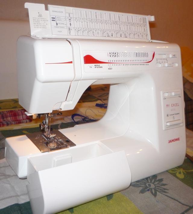Обзор: швейная машина janome my excel w23u белый